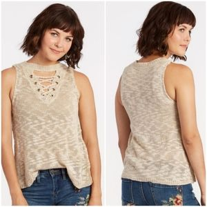 Braeve Shay lace up top
